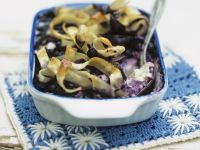 Sweet Pasta Baked with Blueberries recipe