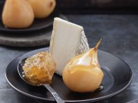Sweet Pears with Soft Cheese and Honey recipe