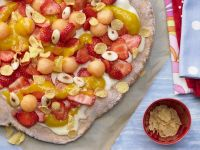 Sweet Pizza with Fruit recipe