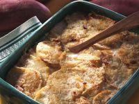 Sweet Potato and Crab Gratin recipe