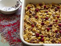 Sweet Potato Crisp with Cranberries recipe