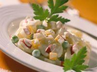 Sweet Potato Salad with Yogurt Dressing recipe