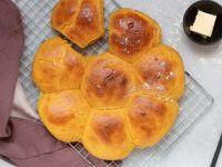 Sweet Pumpkin Dinner Rolls recipe