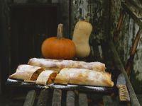 Sweet Pumpkin Strudels recipe