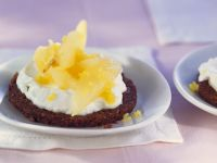 Sweet Quark and Pear Appetizers recipe