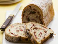 Sweet Raisin Bread with Jam Swirl recipe