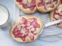 Sweet Rhubarb Tarts recipe