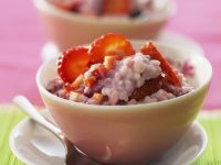 Sweet Risotto with Strawberries recipe