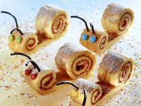 Sweet Snail Cakes