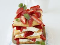 "Sweet Strawberry ""Lasagna"" recipe"