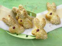 Sweet Yeast-Dough Bunnies recipe