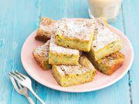 Sweet Zucchini and Almond Bars recipe