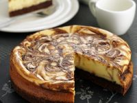 Swirled Coffee Cheesecake recipe
