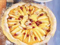 Swiss Style Apple Flan recipe
