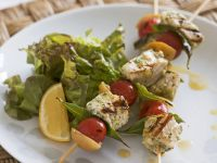 Swordfish and Tomato Skewers recipe