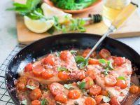 Swordfish with Herbed Tomato Sauce recipe