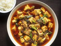 Szechuan Pork and Tofu Bowl recipe