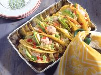 Tacos with Avocado Chicken Salad recipe