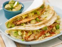 Tacos with Fish, Avocado and Tomato recipe