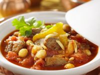 Tagine with Lamb and Chickpeas recipe