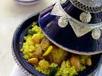 Tagine with Lamb and Couscous recipe