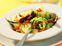 Tagliatelle Pasta with Savoy Cabbage recipe