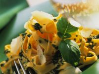 Tagliatelle with Basil Pesto recipe