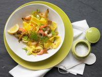 Tagliatelle with Crayfish Tails recipe