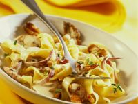 Tagliatelle with Mushroom Sauce recipe