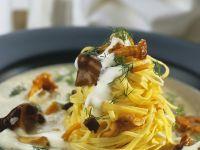 Tagliatelle with Mushroom Sauce recipe