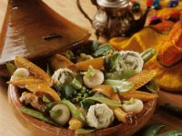 Tajine with Chicken and Vegetables recipe