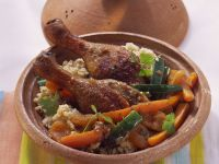 Tajine with Duck and Couscous recipe
