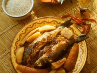 Tajine with Fish and Vegetables recipe