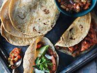 Tandoori Chicken Tacos recipe