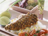 Tandoori-Style Chicken and Tomato Salad recipe