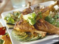 Tandoori-Style Grilled Chicken and Vegetables recipe