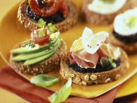 Tapenade Toasts recipe