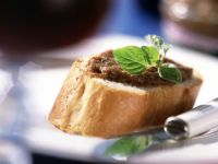 Tapenade with Baguette recipe