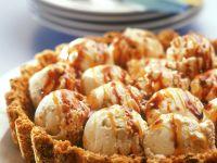 Tart with Caramel Ice Cream recipe