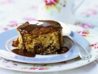 Tart with Toffee Sauce recipe