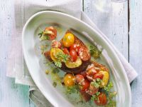 Cherry Tomato Toasts recipe