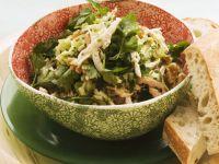 Teared Walnut Salad with Parsley recipe