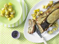 Terrine with Eggplant and Rosemary Potatoes recipe