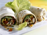 Tex-Mex Chicken Wraps recipe