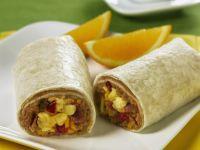 Tex-Mex Style Tortilla Wrap Sandwich recipe