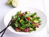Thai Beef and Cucumber Salad recipe