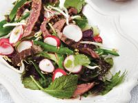 Thai Beef Salad with Lime Vinaigrette recipe