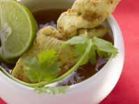 Thai Chicken Satay with Chili Sauce recipe