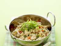 Thai Fried Rice with Chicken recipe