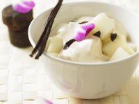 Thai Melon with Vanilla Sauce recipe